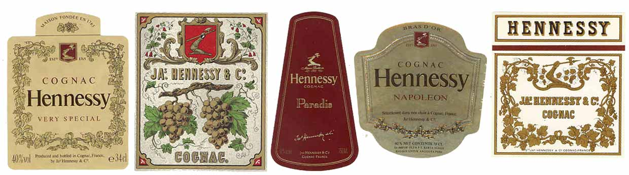 Hennessy Labels