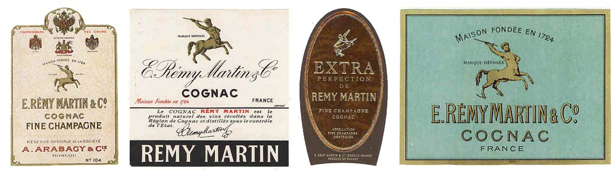 Remy Martin labels
