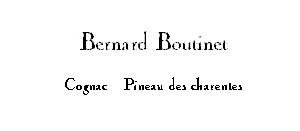 Bernard Boutinet Cognac