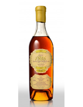 4 Vintage Cognacs by Prunier