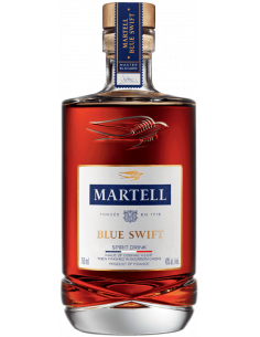 Martell's New Blue Swift Cognac VSOP aged in Bourbon Casks is an Eau-de-vie de Vin (Video)